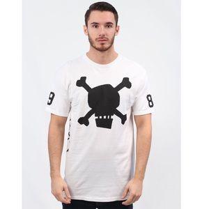 Stussy crossbones t shirt